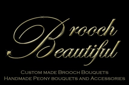 Brooch Beautiful Logo Heading
