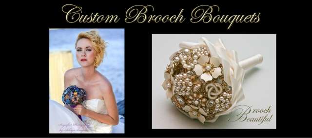 brooch bouquet banner