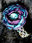 bling brooch broach vintage classic unique forever bridal #broochbeautiful antique teal purple wedding bridal shower prom sweet 16