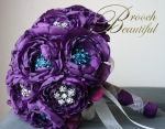 bling brooch broach vintage classic unique forever bouquet bridal #broochbeautiful