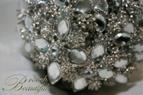 platinum silver brooch bouquet 6